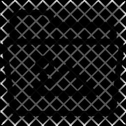 Image folder Line Icon