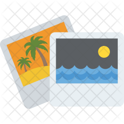 Image Gallery Flat Icon