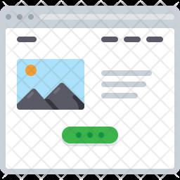 Image webpage Icon