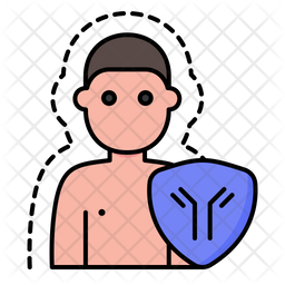 Immunity Colored Outline Icon