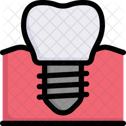 Implanted In Gum Icon