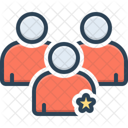 Importance Colored Outline Icon