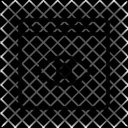 Impression Line Icon