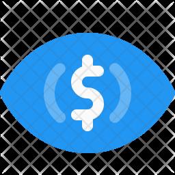 Impression cost Icon