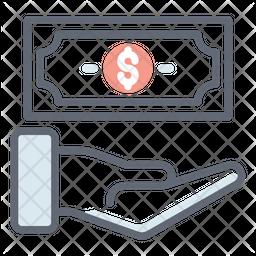 Income Colored Outline Icon