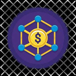Income distribution Icon
