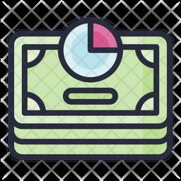 Income Tax Colored Outline Icon