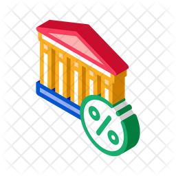 Income Tax Building Icon