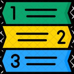 Index Heading Icon