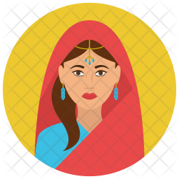 Indian Flat Icon