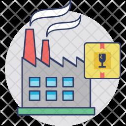 Industrial Shipment Icon