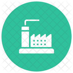 Industry Glyph Icon