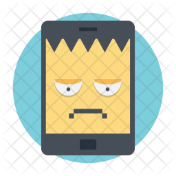 Infected Mobile Icon