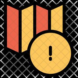 Info Colored Outline Icon