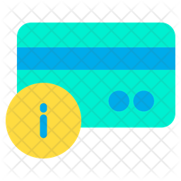 Info Credit Card Icon