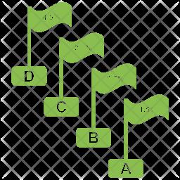 Infographic Graph Icon