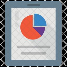 Infographic Report Icon