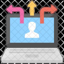 Information Sharing Icon