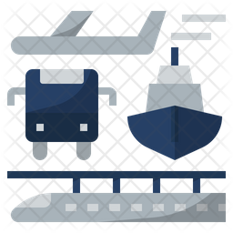 Infrastructure Flat Icon