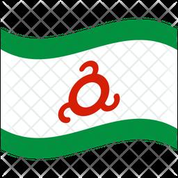 Ingushetia Flag Icon