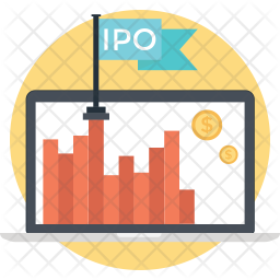 Initial Public Offering Icon Of Flat Style Available In Svg Png Eps Ai Icon Fonts