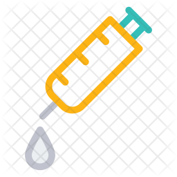Injection Colored Outline Icon