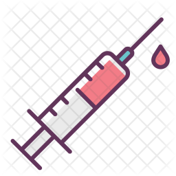 Injection, Blood, Medicine, Care, Treatment, Hospital, Recovery Icon