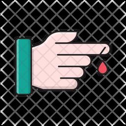Injured Finger Icon