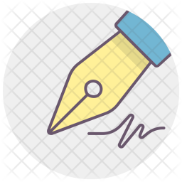 Ink, Pen, Write, Office, Fountain, Stationery Icon