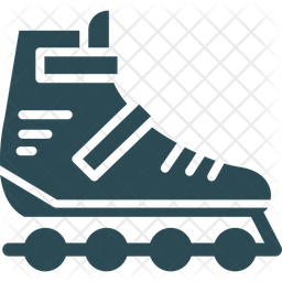 Inline Skates Icon Of Glyph Style Available In Svg Png Eps Ai Icon Fonts