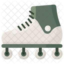 Inline Skates Icon Of Flat Style Available In Svg Png Eps Ai Icon Fonts