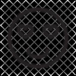 Inlove Emoji Icon