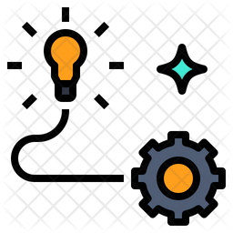 Innovation Colored Outline Icon