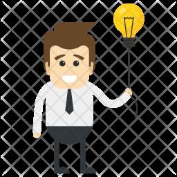 Innovative Businessman Icon