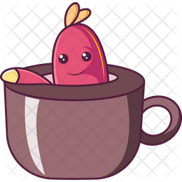 Insect In Cup Icon
