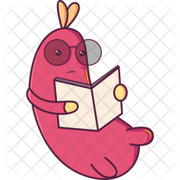 Insect Reading Book Icon