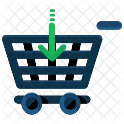 Insert in cart Icon