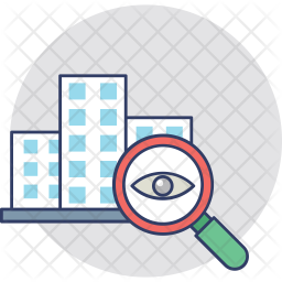 Inspection Colored Outline Icon