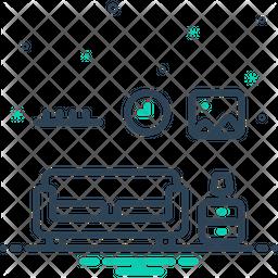 Interior Line Icon