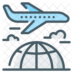 International Business Trip Icon Of Colored Outline Style Available In Svg Png Eps Ai Icon Fonts