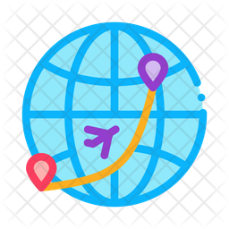 International Travelling Icon