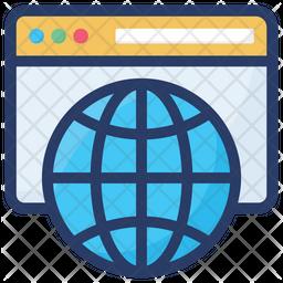 International Website Icon