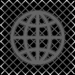 Internet Line Icon