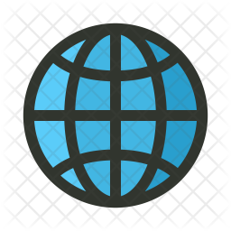 Internet Colored Outline Icon