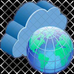 Internet Isometric Icon
