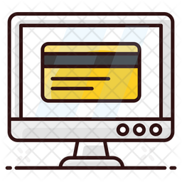 Internet Banking Colored Outline Icon