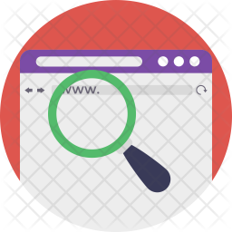 Internet Research Icon