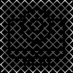 Internet Security Line Icon