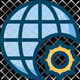 Internet settings Icon