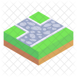 Intersection Route Icon
